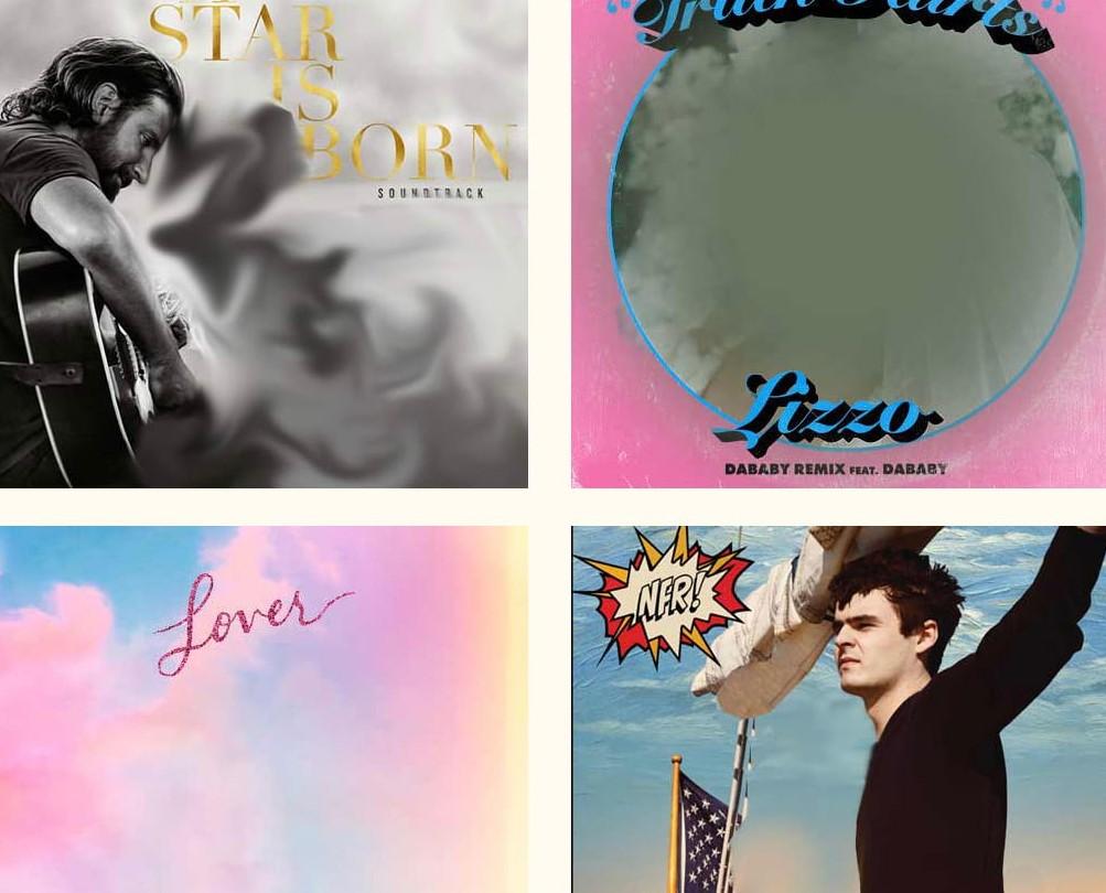Muheres foram removidas das capas dos álbuns