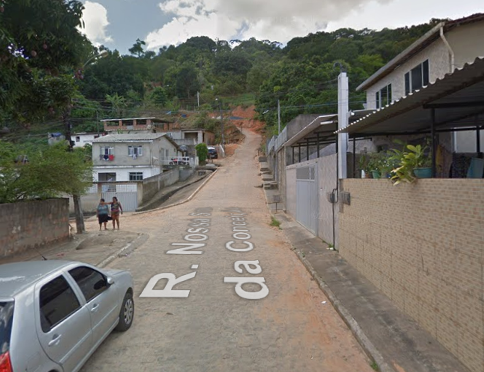 Duplo homicídio ocorreu na rua Nossa Senhora da Conceição