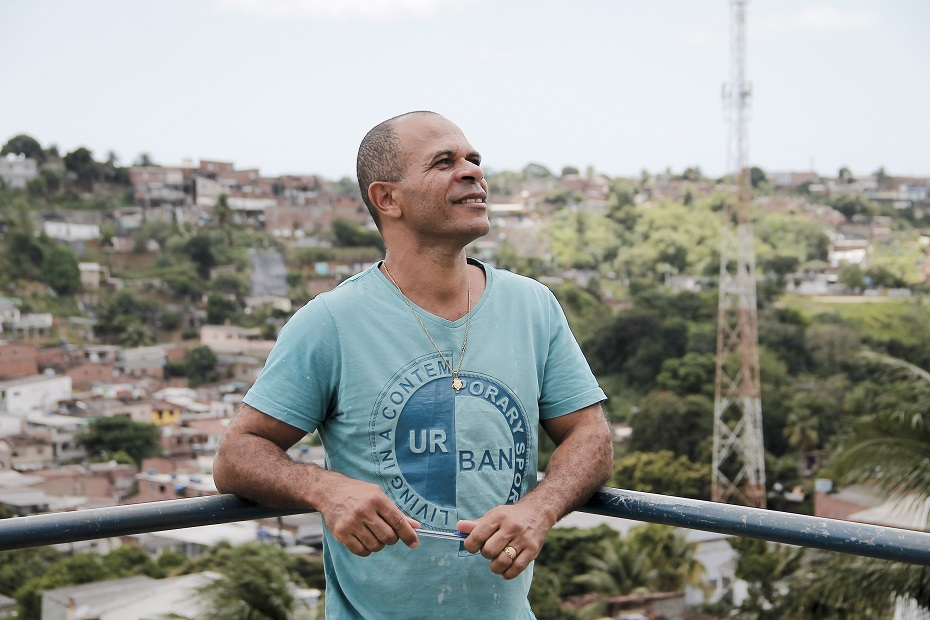 O educador de artes do Clube de mães, Ivan Tavares, tem boas expectativas com o programa