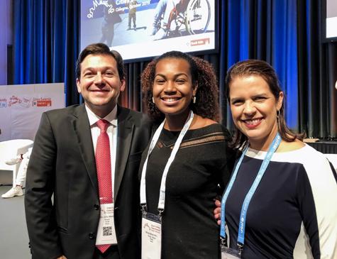 Geraldo Júlio em encontro da Unicef na Alemanha