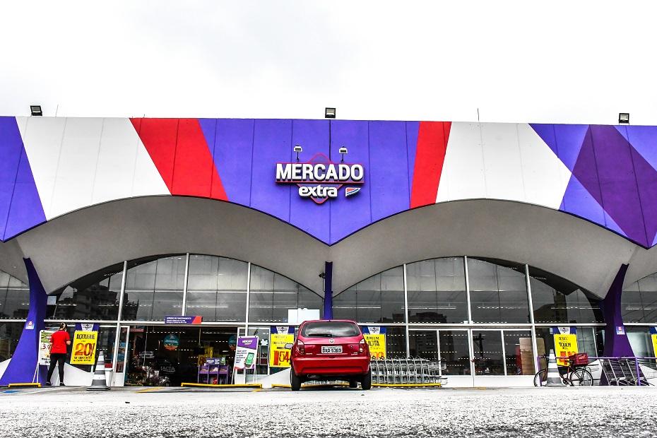 Novo modelo de lojas do Mercado Extra
