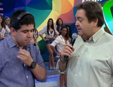 O ex-produtor processou a Globo por brincadeiras ao vivo de Faustão