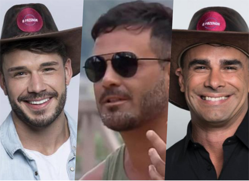 Jorge, Rodrigo Phavanello e Lucas são indicados para a roça