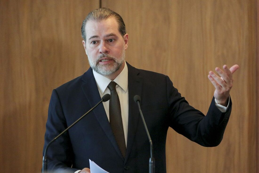 Ministro Dias Toffoli, presidente do Supremo Tribunal