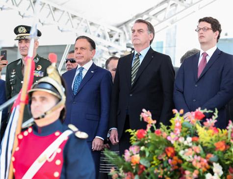 Doria e Bolsonaro