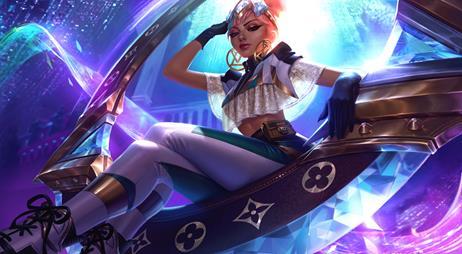 """Qiyana, campeã do League of Legends com a versão da """"True Damage"""