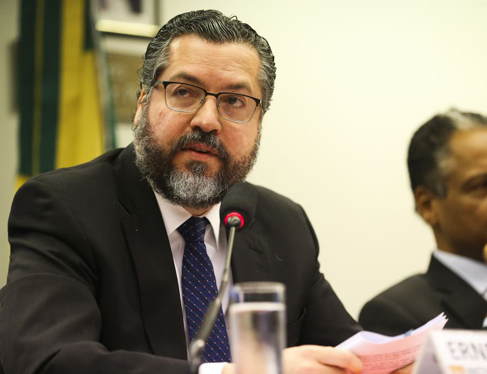 Ernesto Araújo, chanceler brasileiro