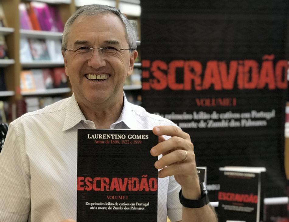 Jornalista Laurentino Gomes
