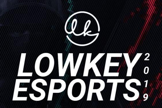 Logo oficial da Lowkey Esports