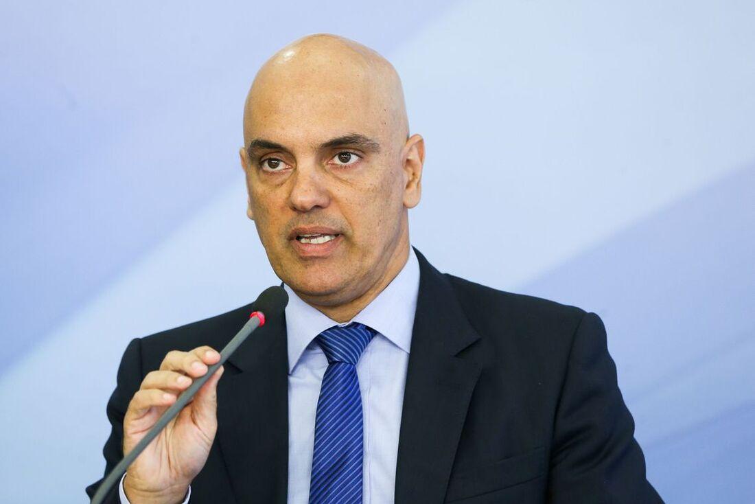 Alexandre Moraes é o atual ministro do Supremo Tribunal Federal (STF)