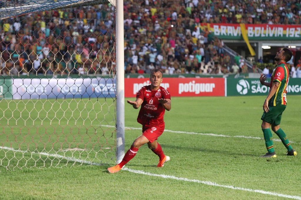Matheus Cunha, atacante da seleção sub-23