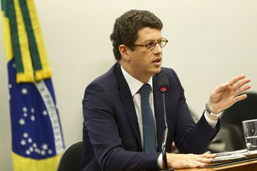 Ricardo Salles participa de audiência pública na Comissão de Meio Ambiente e Desenvolvimento Sustentável da Câmara