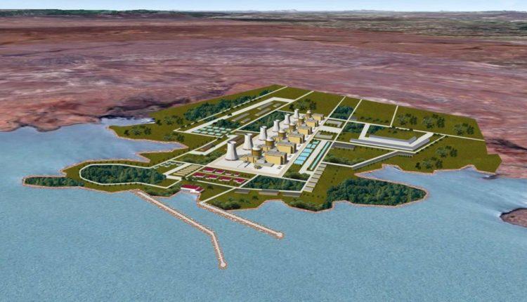 Projeto da usina nuclear
