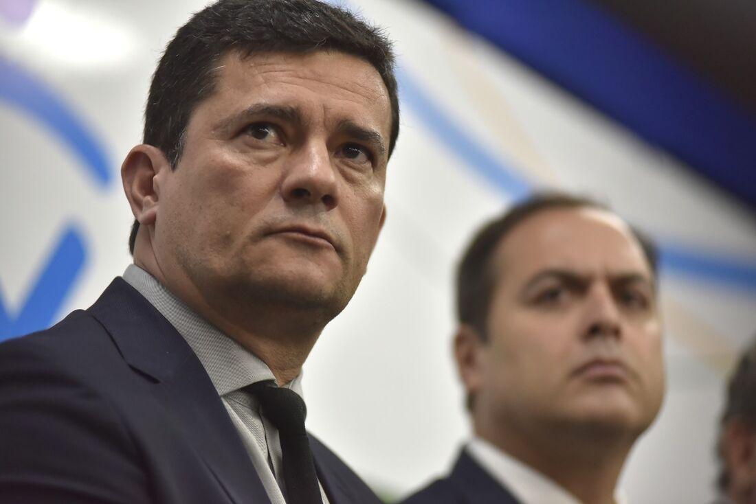 Sérgio Moro e o governador Paulo Câmara