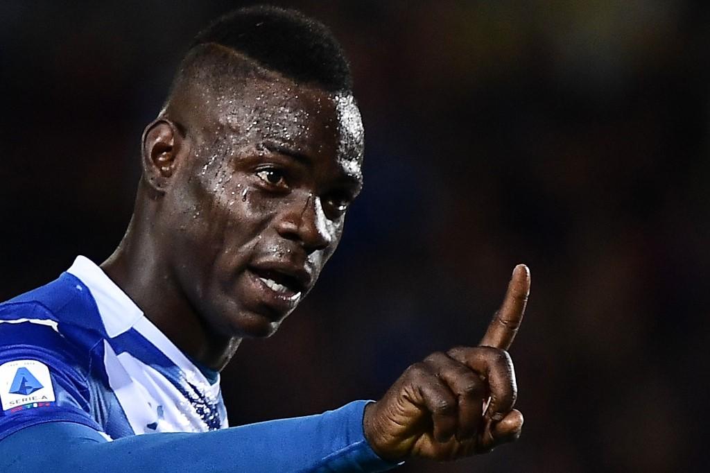 Balotelli, atacante do Brescia, da Itália