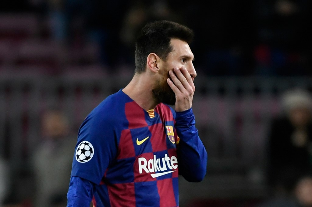 Lionel Messi, atacante do Barcelona