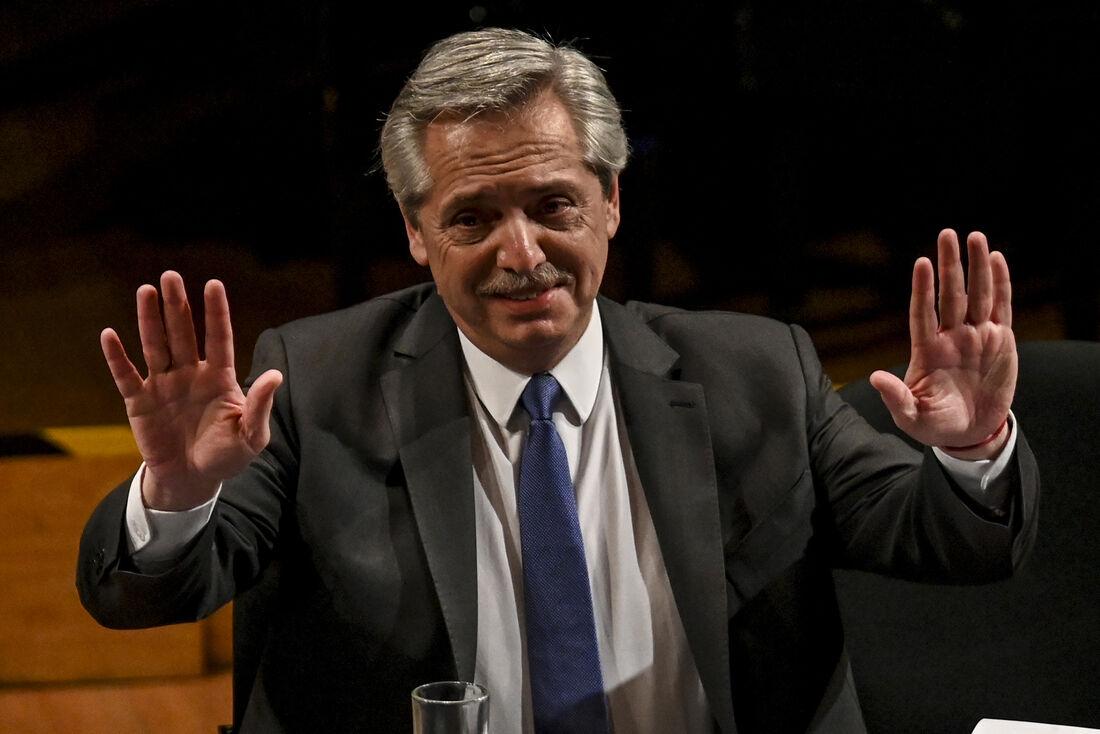 Presidente eleito da Argentina, Alberto Fernández