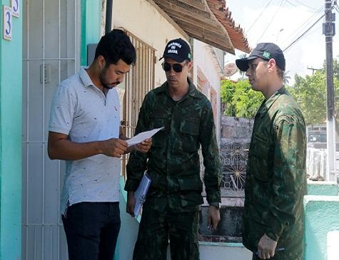 Foram distribuídos 725 fuzileiros navais no Litoral Sul