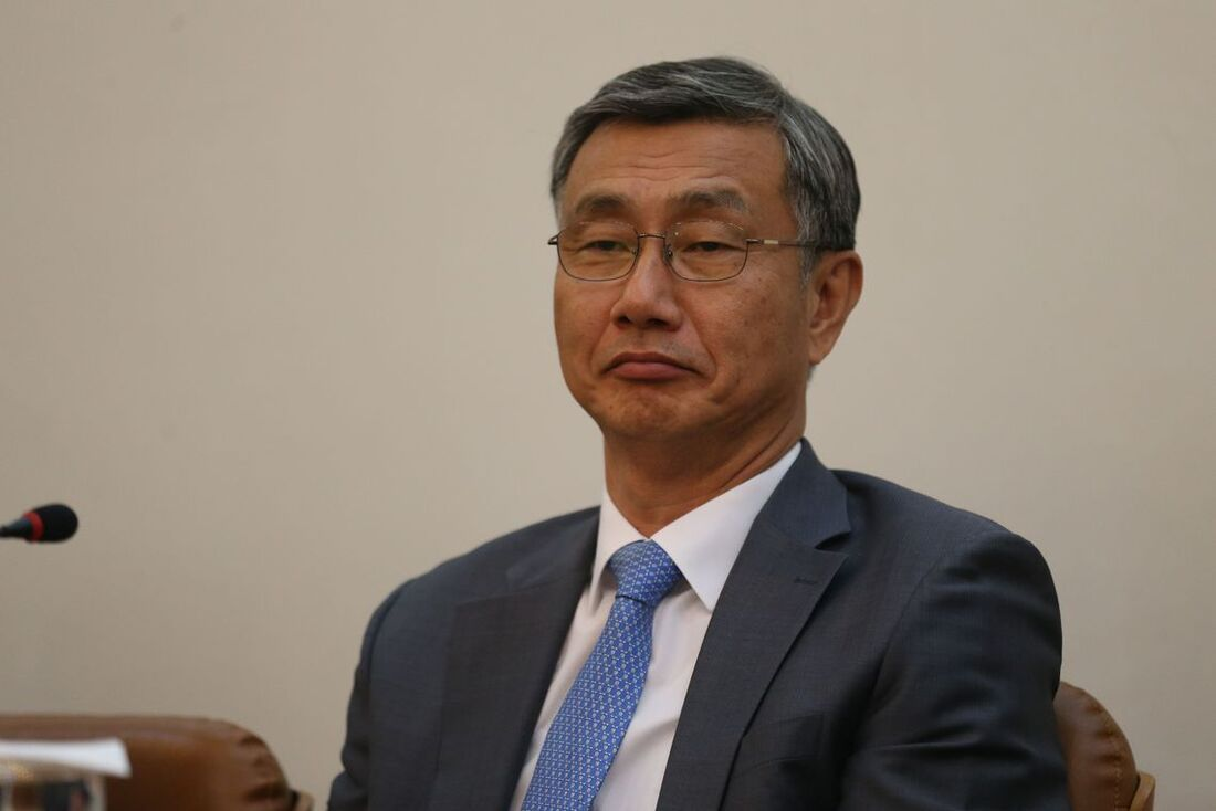 Ex-embaixador da Coreia do Sul no Brasil, Jeong-Gwan Lee