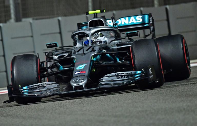 Bottas, piloto da Mercedes