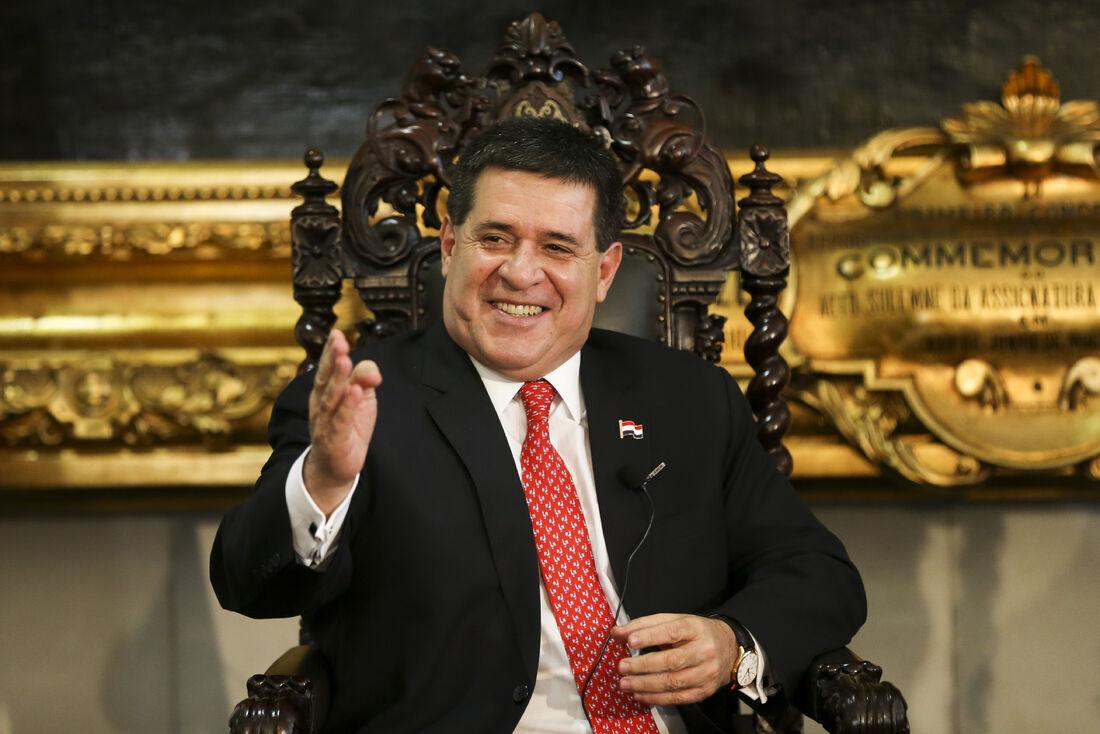 O ex-presidente do Paraguai Horacio Cartes