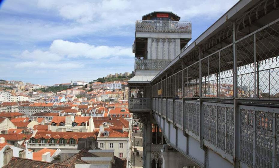 Elevador Santa Justa, em Portugal