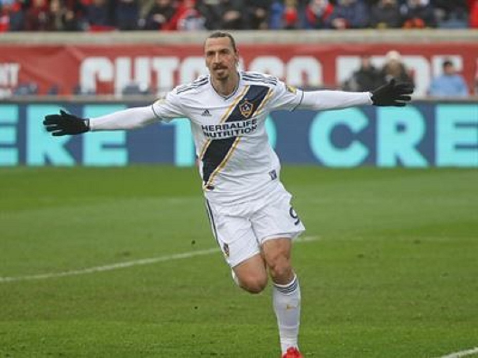 Ibrahimovic pelo LA Galaxy