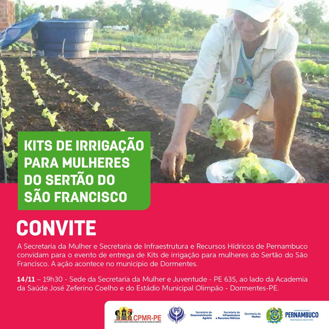 A iniciativa tem o objetivo de incrementar a produção agrícola na região semiárida do Estado