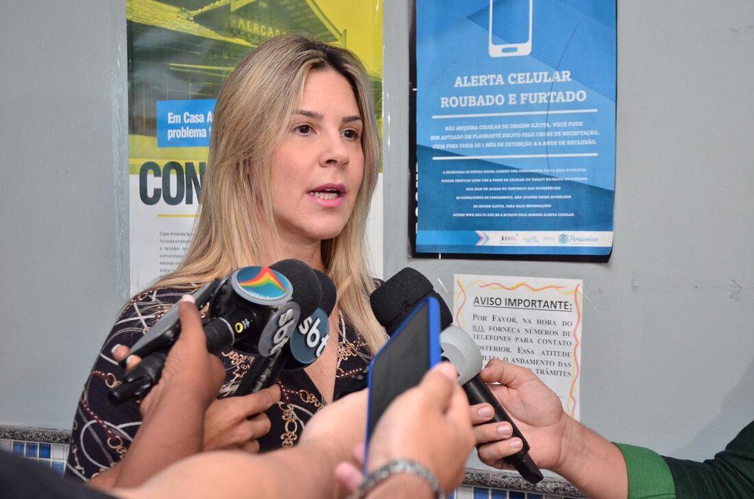 Delegada de Casa Amarela, Lídia Barci