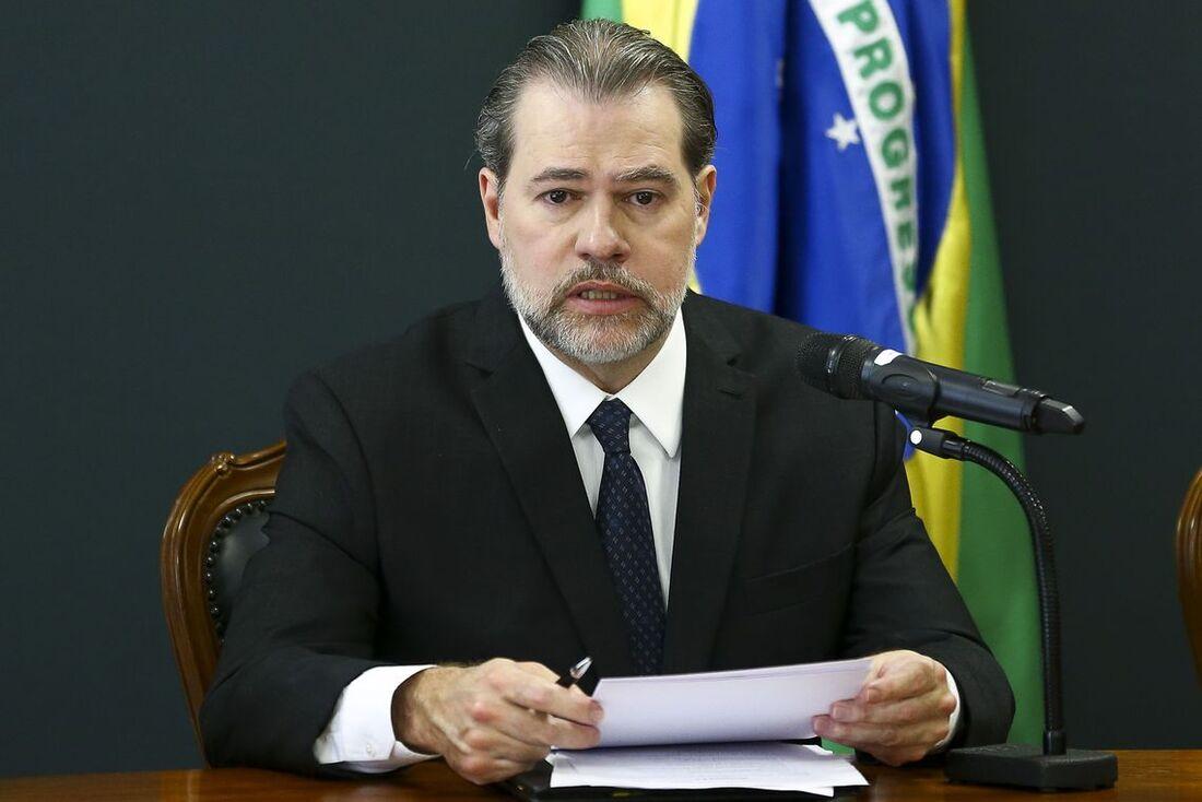 Presidente do STF (Supremo Tribunal Federal), ministro Dias Toffoli