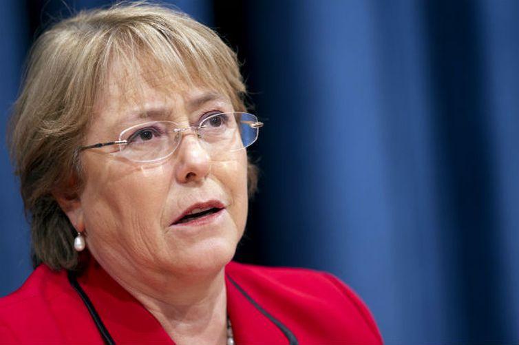 Alta comissária da ONU para os Direitos Humanos, Michelle Bachelet