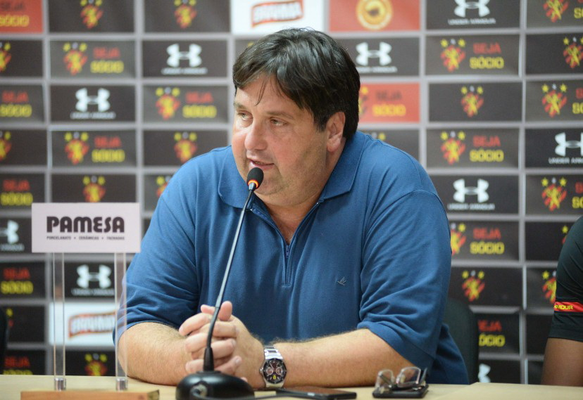 Nelo Campos, diretor de futebol do Sport