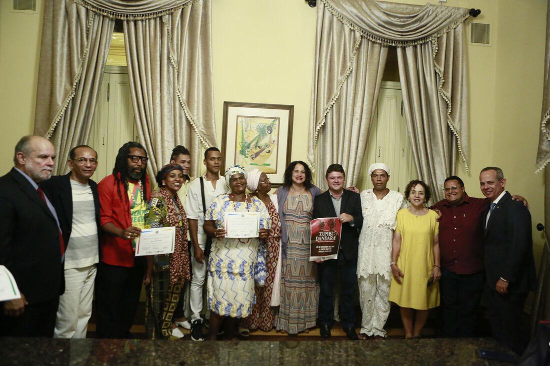 Eventos no Palácio do Campo das Princesas reforçam as celebrações em alusão ao Dia da Consciência Negra