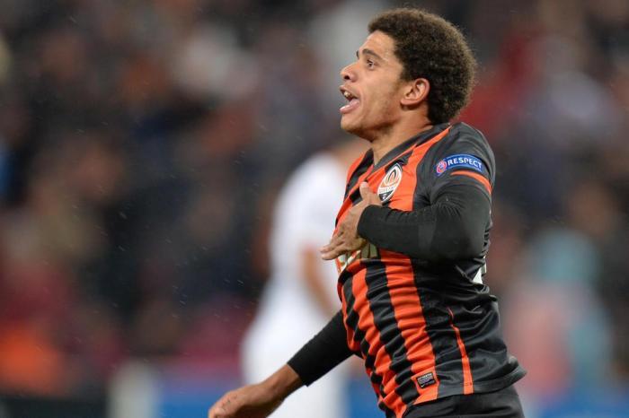 Taison, jogador do Shakhtar Donetsk, da Ucrânia