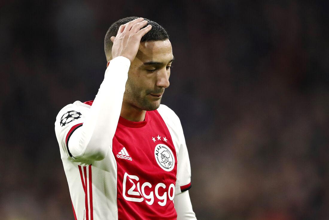 Ziyech, meia destaque do Ajax