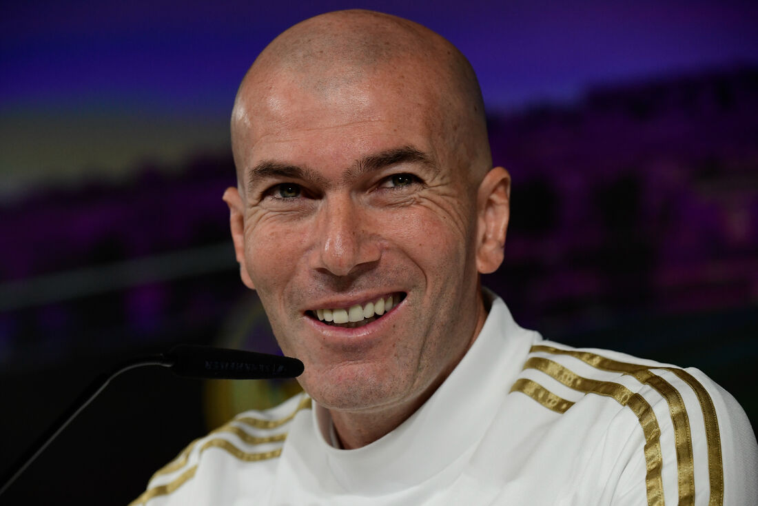 Zidane, técnico do Real Madrid