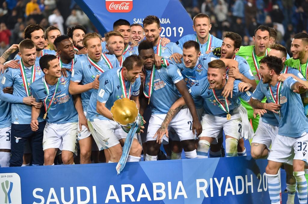 Lazio foi campeã da Supercopa da Itália 2019