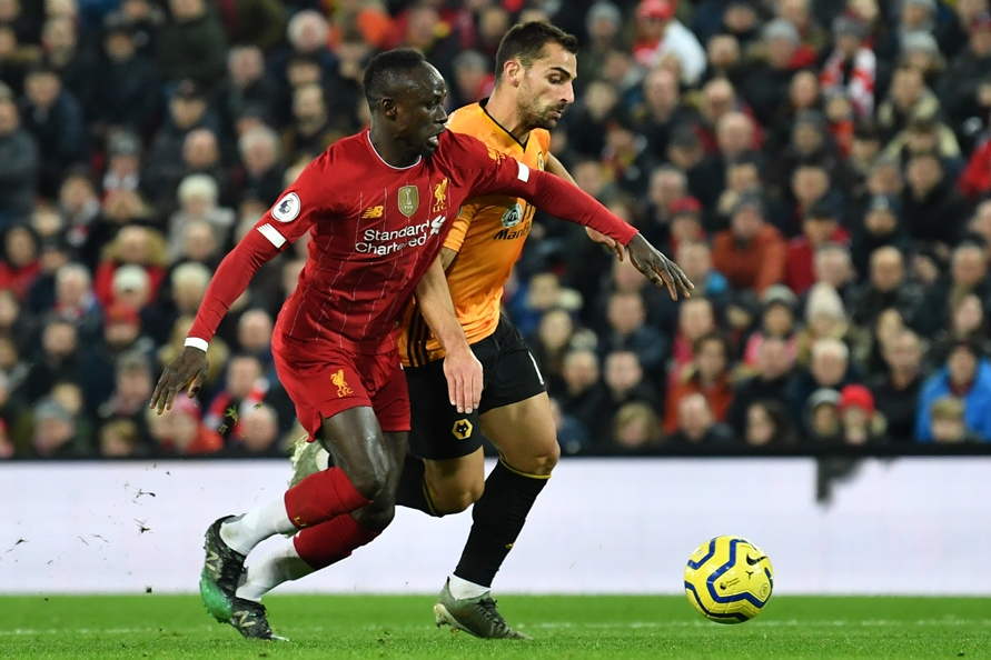 Mane, atacante do Liverpool