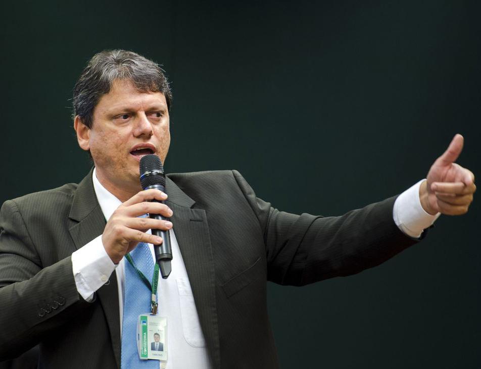 Tarcísio Freitas, ministro da Infraestrutura