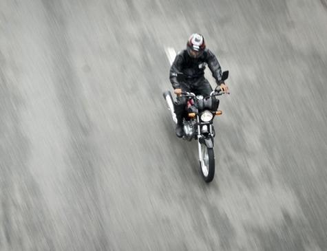 Motoboy em entrega