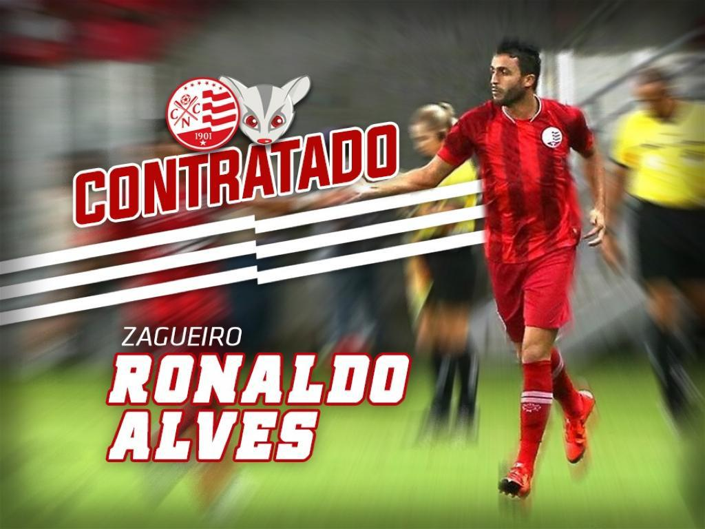 Ronaldo Alves foi um dos reforços confirmados para a temporada de 2020 do Náutico