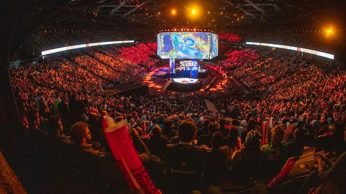 AccorHotels Arena, sede da final do Mundial de League of Legends
