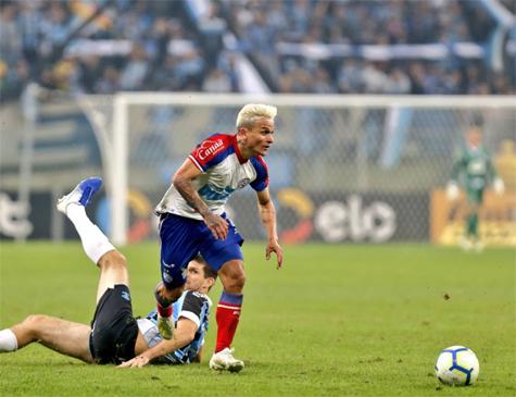 Artur, que pertencia ao Palmeiras e defendeu o Bahia nesta temporada, foi comprado pelo Red Bull Bragantino por R$ 27 milhões
