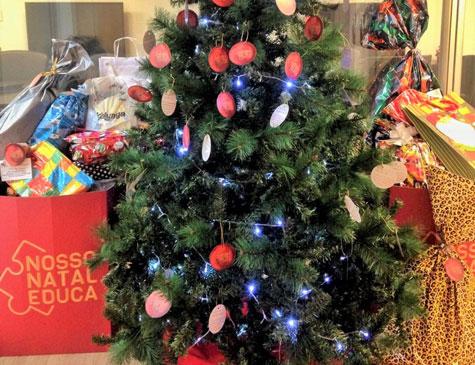 Nosso Natal Educa mobilizou funcionários