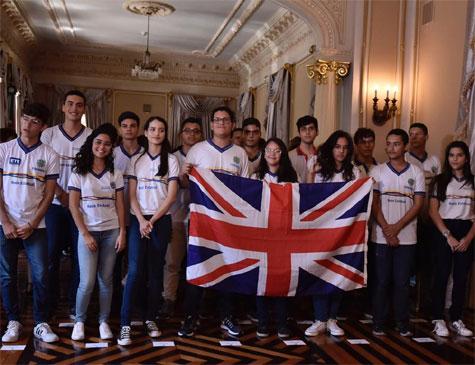 Estudantes que vão para o Ganhe o Mundo Técnico