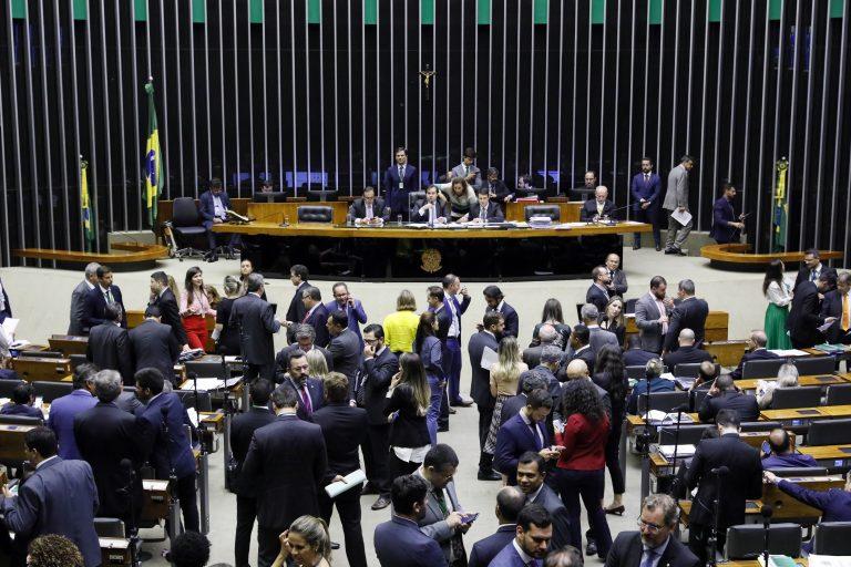 Sessão da Câmara sobre pacote anticrime