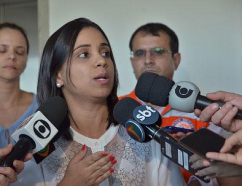 Secretária de Infraestrutura e Recursos Hídricos, Fernandha Batista