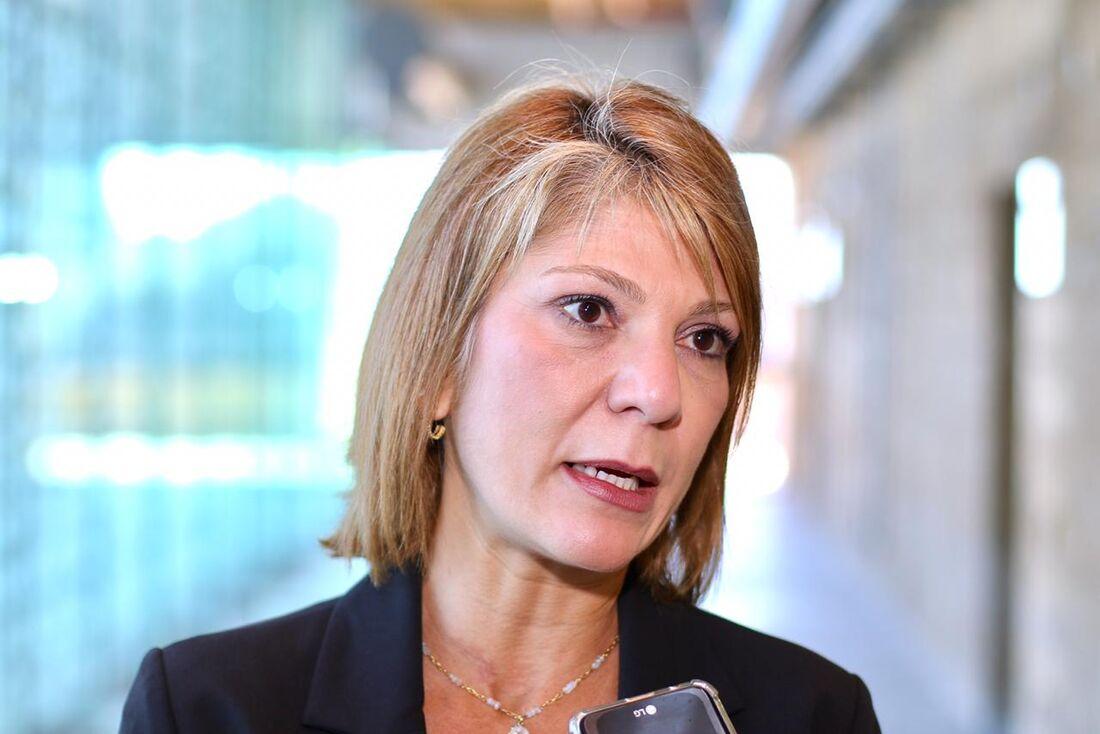 A secretária da Controladoria-Geral do Estado (SCGE), Érika Lacet