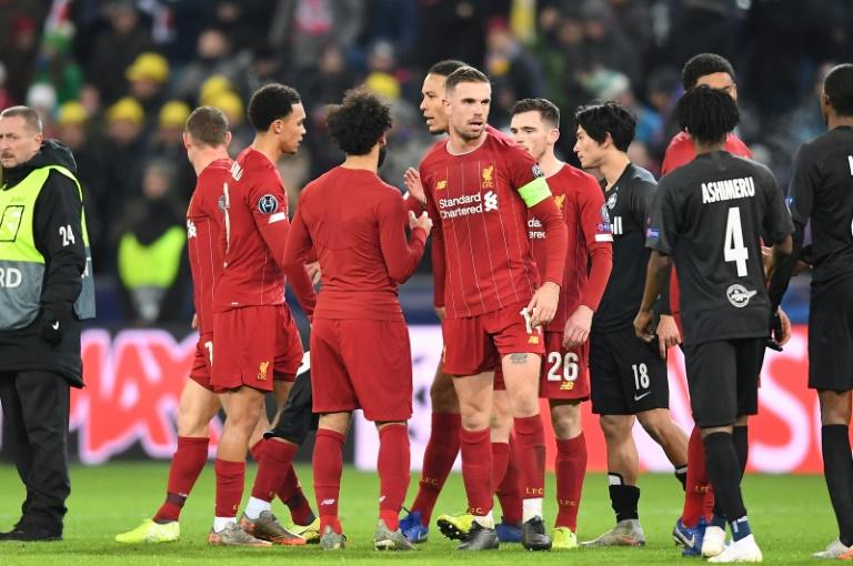 Liverpool bateu o Salzburg por 2x0 fora de casa