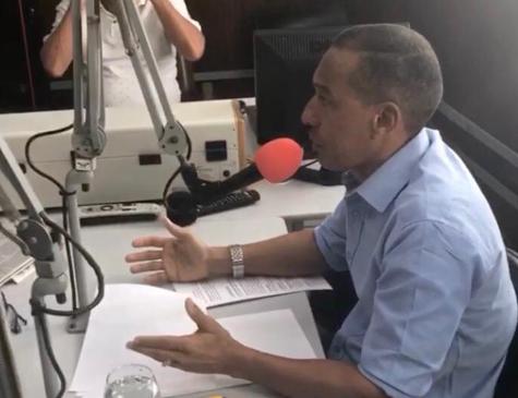 Professor Lupércio em entrevista na manhã desta sexta-feira (27)
